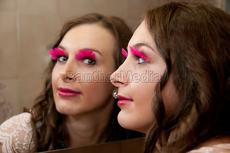 pink, eyelashes - 29759104