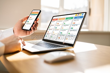 kanban scrum zeitplan board plan app