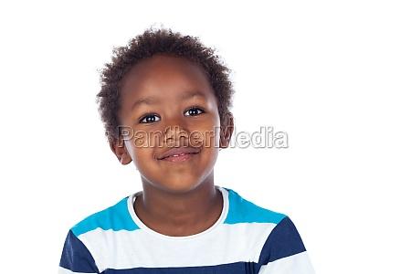 afrikanisches kind lacht