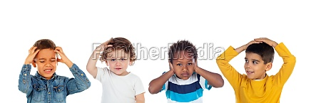 children, covering, the, ears, and, shocked - 29781634