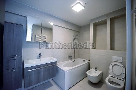 stilvolles badezimmer interieur