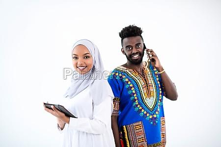 afrikanisches business team