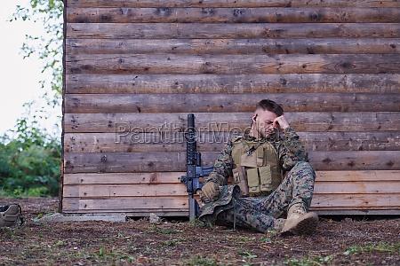 veraergerter soldat hat psychische probleme