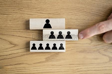 hierarchie der unternehmensrekrutierungsfoerderung