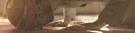 muslimisches, gebet, in, der, moschee - 29811074