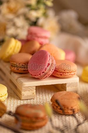 franzoesische macaron cookies