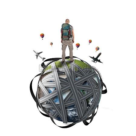 traveling, around, the, world - 29834584