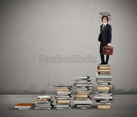 weg des bachelorstudiums