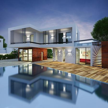 luxus villa projekt