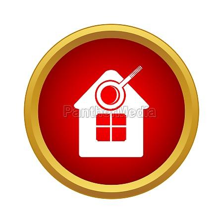 suche home symbol einfacher stil