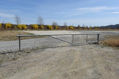 barriere, auf, der, straße, oder, straßensperre - 29867035
