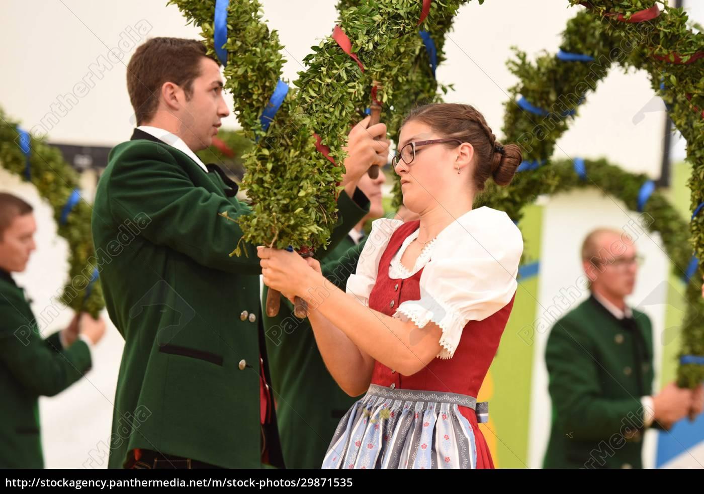 Öffentliche, aufführung, österreichische, österreichische, volkstänze, beim - 29871535