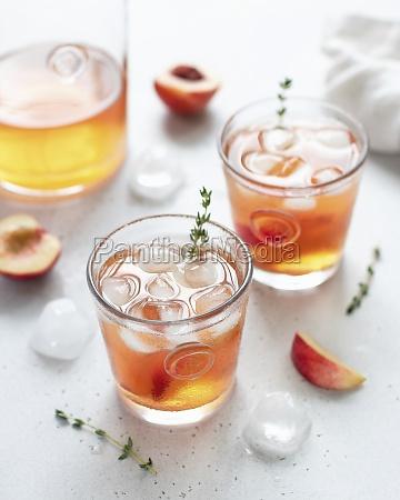nektarine, eistee - 29877446
