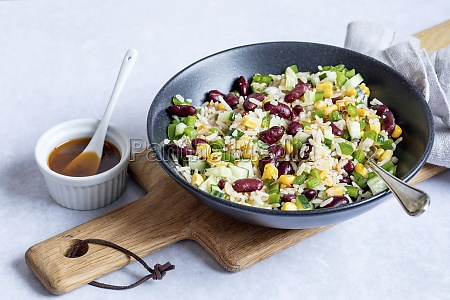rice, salad, with, corn, and, kidney - 29877881