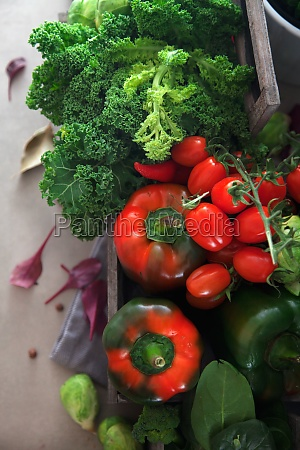 fresh, vegetables, variety - 29889826