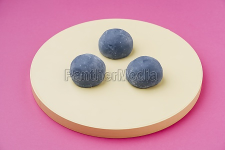 delicious, dessert, with, grey, icing - 29896038