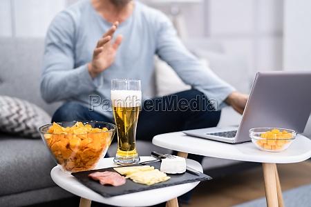 virtuelles online biertrinken event