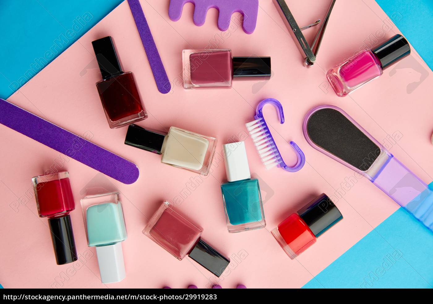 nail, care, products, , polish, on, pink - 29919283