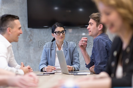 startup, business, team, bei, einem, meeting - 29938277
