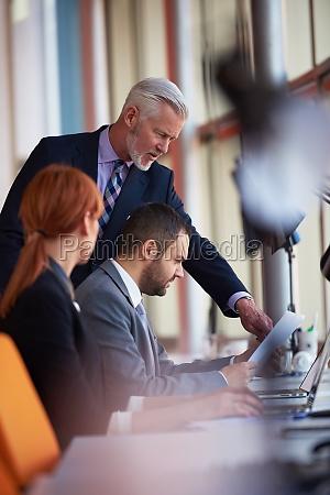 business people gruppe bei meetings