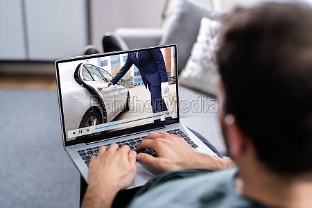 video online auf laptop ansehen