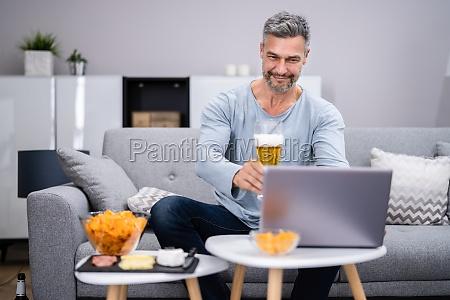 virtuelles online biertrink event