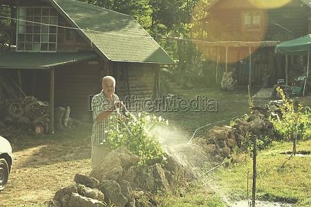 gardener, watering, the, plants - 30066256
