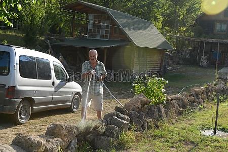 gardener, watering, the, plants - 30066260