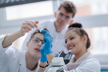 group, of, young, medical, students, doing - 30067511