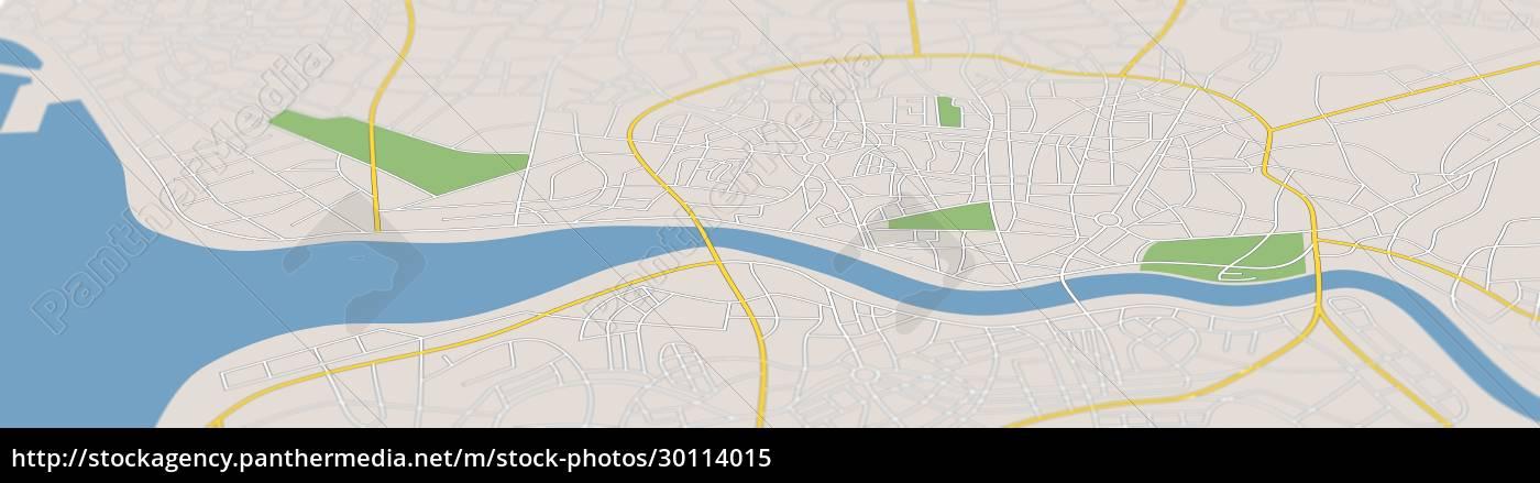 a, generic, city, map, illustration - 30114015