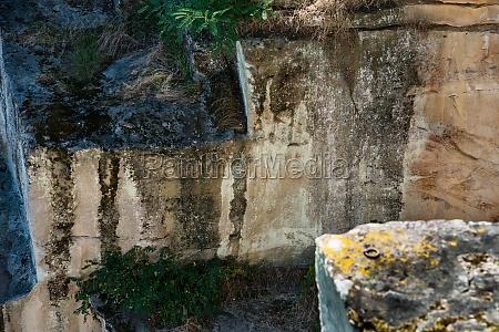 historischer roemischer steinbruch kriemhildenstuhl bei bad