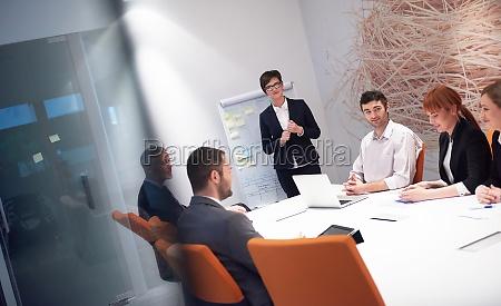 business-people-gruppe, bei, meetings - 30125702