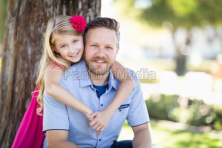 young, caucasian, father, and, daughter, portrait - 30133562