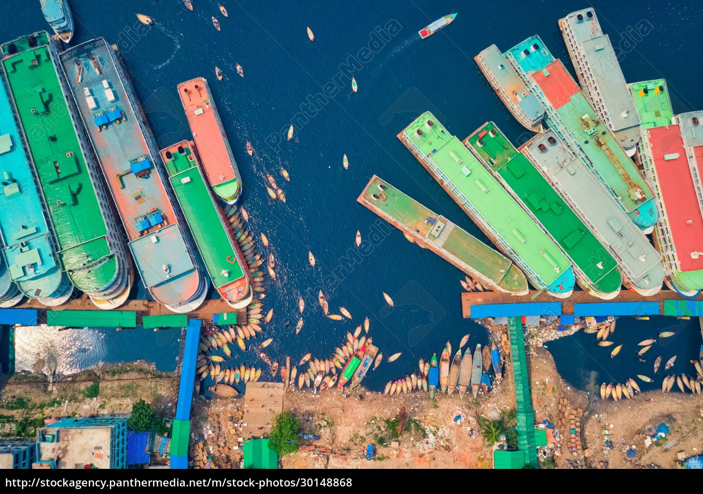 aerial, view, of, a, few, ferry - 30148868