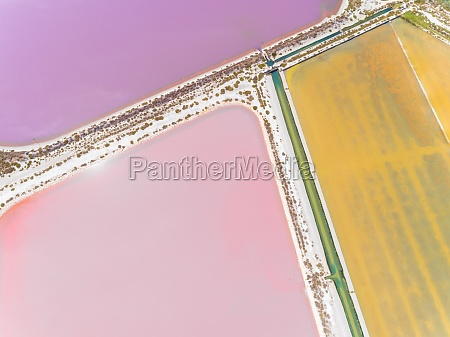 aerial, view, of, abstract, colourful, salt - 30151011