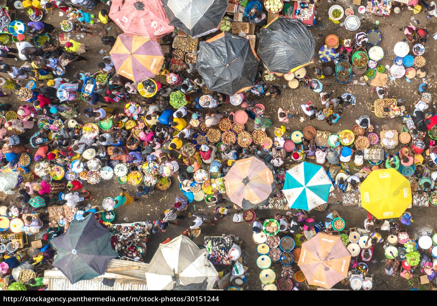 aerial, view, of, traditional, city, market - 30151244