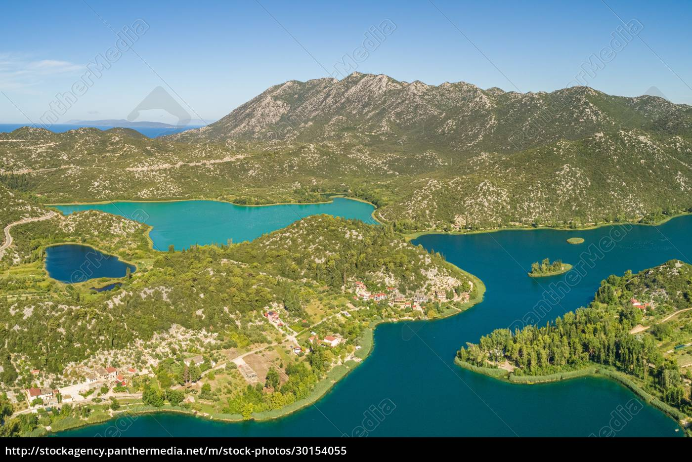 aerial, view, of, bacina, fresh, water - 30154055