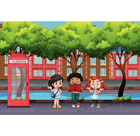 international, children, in, urban, city - 30177021
