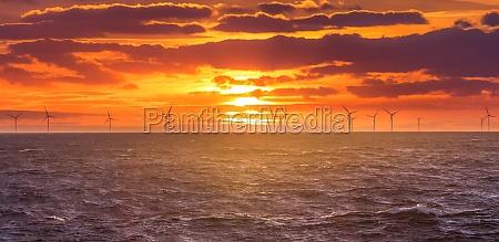 erneuerbare, Ökostrom-windkrafterzeugung, offshore - 30214681