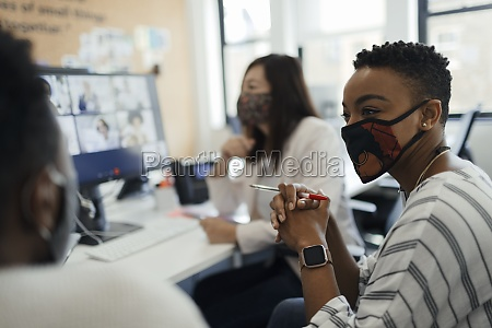 business, people, in, face, masks, video - 30217624