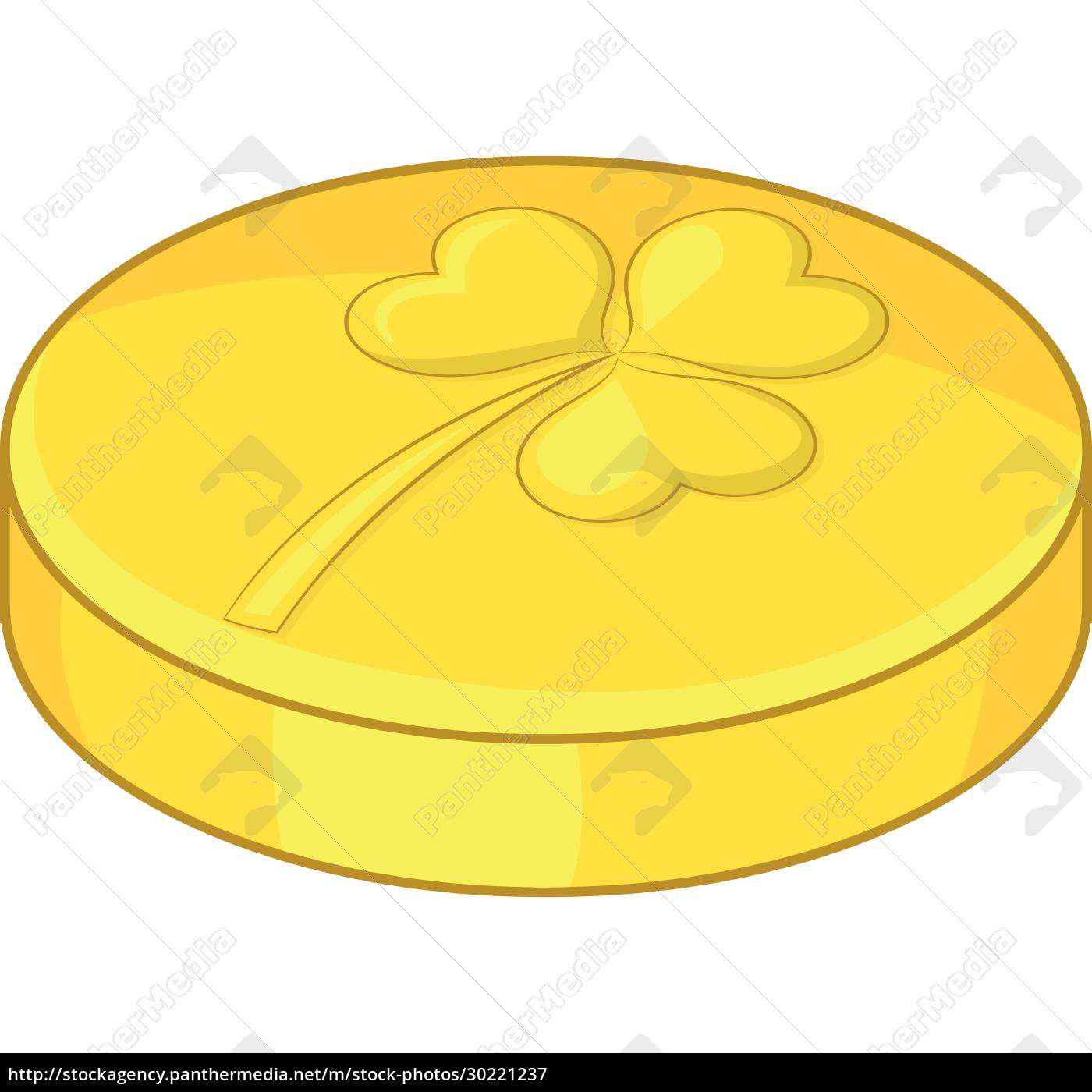 golden, coin, icon, , cartoon, style - 30221237