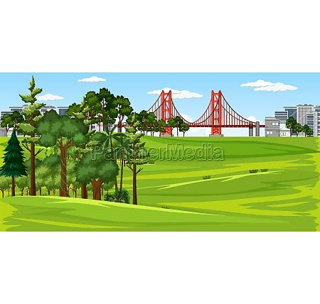 city, with, nature, park, landscape, scene - 30302471