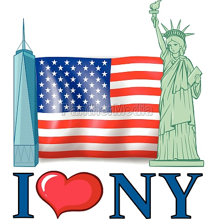 i, love, new, york, banner, with - 30371304