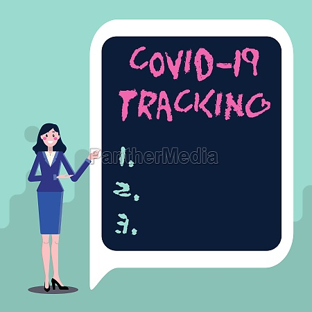 text, showing, inspiration, covid, 19, tracking. - 30448496