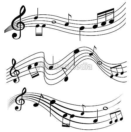 seamless, design, with, music, notes - 30474172