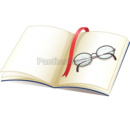 notebook, and, glasses - 30483511
