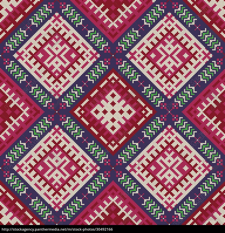 russian, pattern, 37 - 30492166