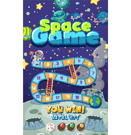 game, template, with, many, planets, in - 30503338