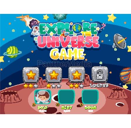 screen, template, for, explore, the, universe - 30514120