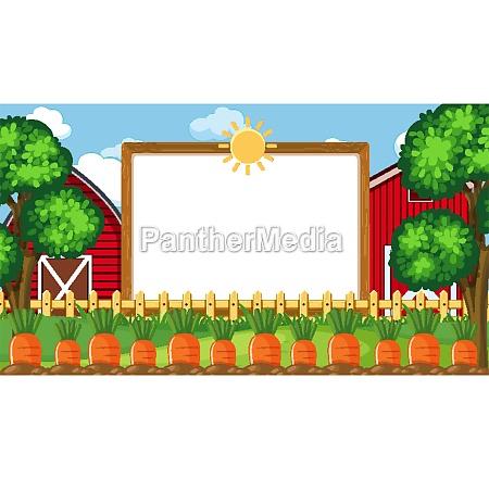border, template, with, farm, scene, in - 30523605
